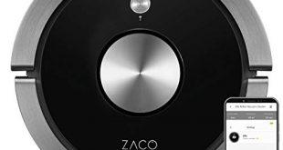 ZACO A9s Saugroboter mit Wischfunktion App und Alexa Steuerung 2 310x165 - ZACO A9s Saugroboter mit Wischfunktion, App und Alexa Steuerung, 2 Std Laufzeit, für Tierhaare, 3in1 Hartböden wischen, Teppiche staubsaugen und bürsten, Roboterstaubsauger mit Ladestation, schwarz